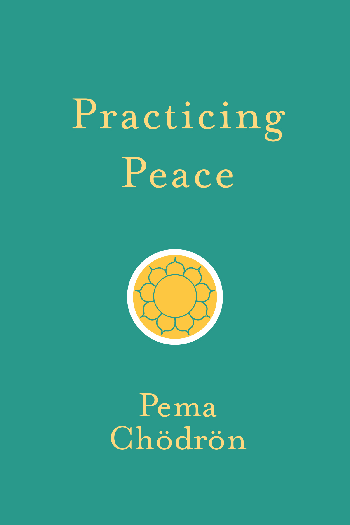 Practicing peace book cover