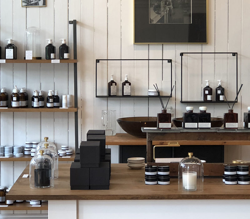 inside store shot of cold springs apothecary