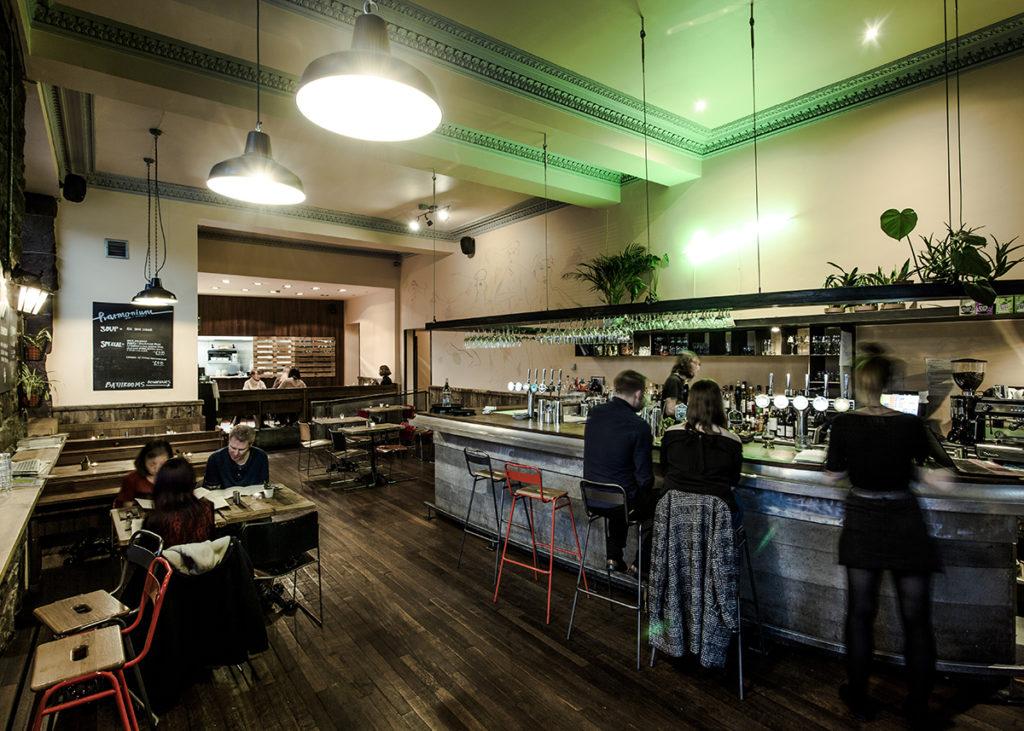 Harminium's dining area.