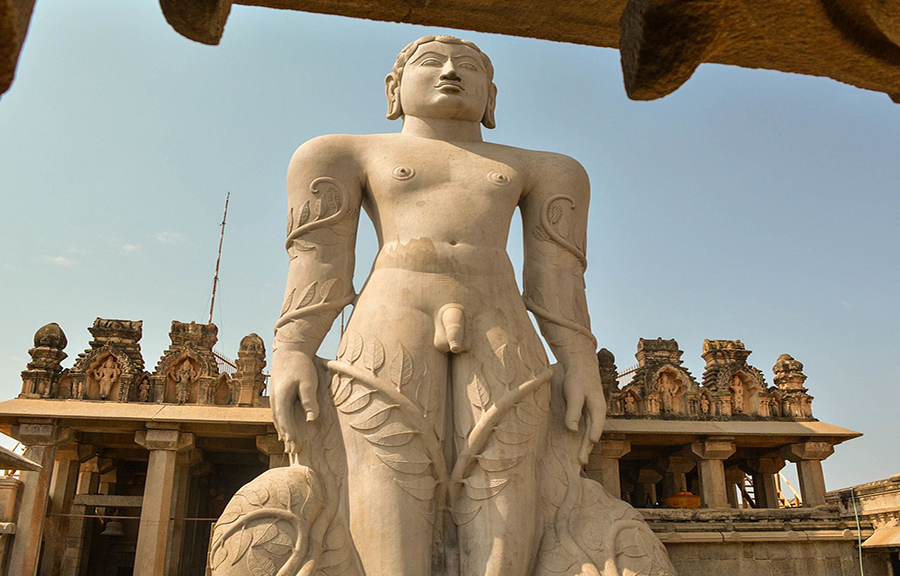 statue outside of temple