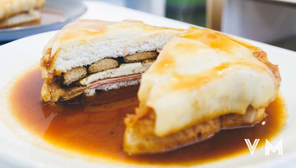 plate of Francesinha