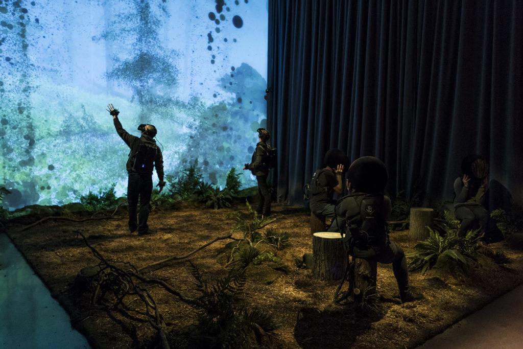 VR art installation
